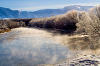 Bear River -steaming-